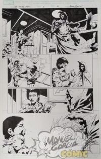 House of M: Masters of Evil 1 page 10 + Wolverine