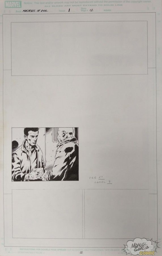 Masters of Evil 1 pag. 12 panel