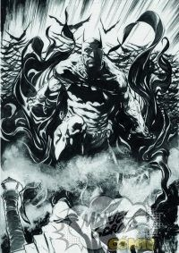 Batman SIGNED PRINT A3