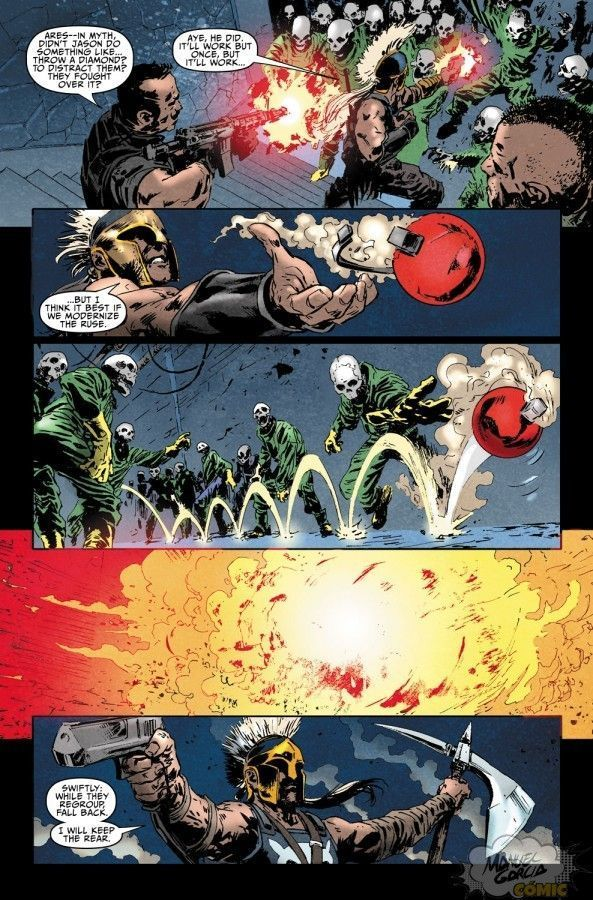 Dark Avengers: Ares 2 page 17