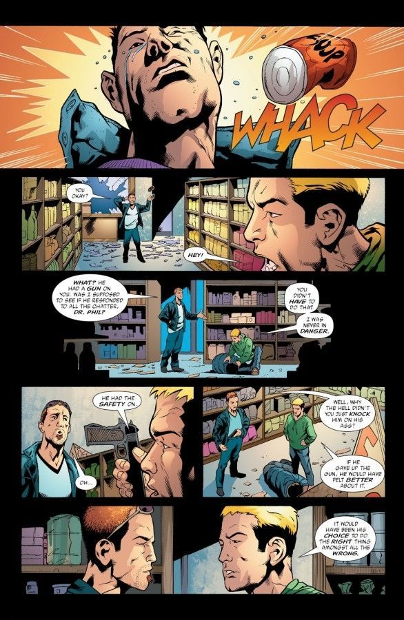 Green Arrow 32 page 19